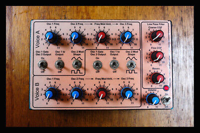 WEIRD SOUND GENERATOR - Music From Outer Space - Analogue Synth