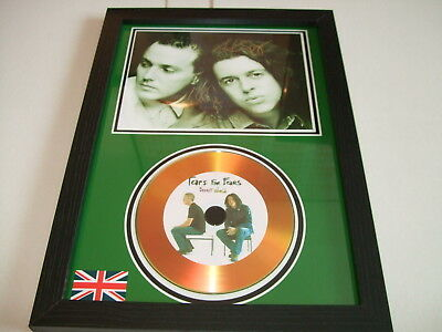 Tears For Fears    Signed  Gold Cd  Disc 9