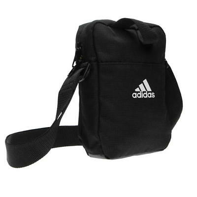 Adidas Performance Personal Organiser Small Shoulder Bag Sport Black Grey eced3ffde6346