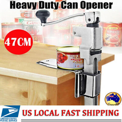 US Large Heavy-Duty Commercial Kitchen Restaurant Food Big Can Opener Table