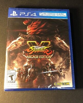 Street Fighter V [ Arcade Edition ] (PS4) NEW
