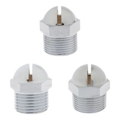 Pack of 3pcs Copper Curtain Spraying Fire Sprinkler Heads 15mm/20mm/25mm