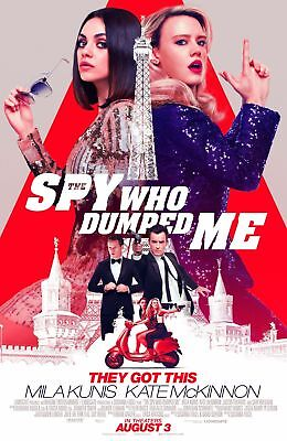 The Spy Who Dumped Me Movie Poster 18'' X 28''