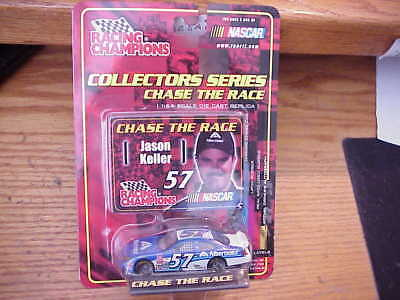 RACING CHAMPIONS NASCAR CHASE the RACE 2001**JASON KELLER # 57** 1:64 SCALE