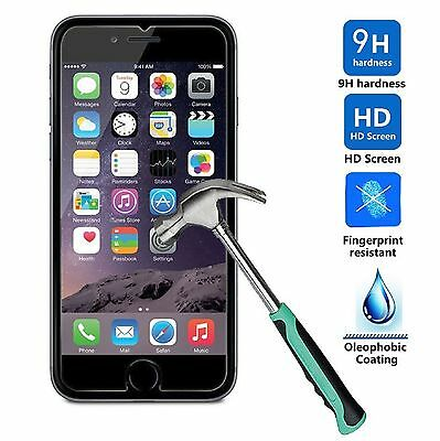 Premium Real Screen Protector Tempered Glass For iPhone 5 6 6s 7 8 Plus X 10