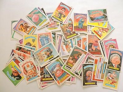 Garbage Pail Kids Lot Of 136 Trading Cards 1986 & 1987