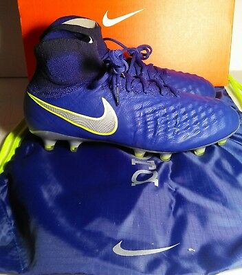 44a8735fe7b New Nike Magista Obra II FG Deep Royal Blue Soccer Cleats 844595-409 Men Sz