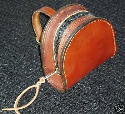 Handmade Leather Fly Reel Case