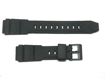 17mm Resin Strap, Generic to Fit Gents' Casio Watch 180V1, 21mm Shoulders