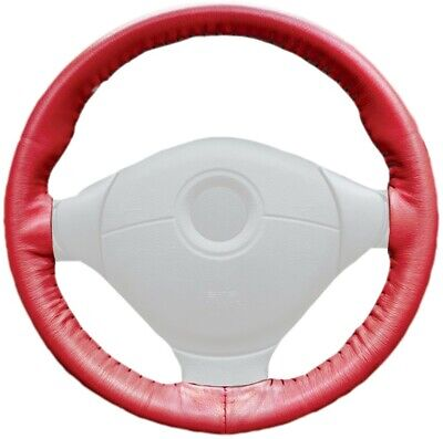 Wheelskins Genuine Leather Steering Wheel Cover for Ford Escape