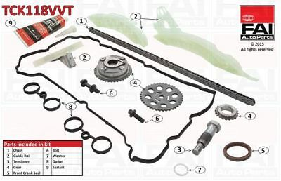 FAI Timing Chain Kit TCK118VVT  - BRAND NEW - GENUINE - 5 YEAR WARRANTY