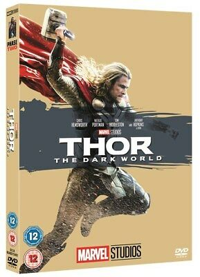 Marvel Thor The Dark World  With Limited Edition Slipsleeve New Dvd