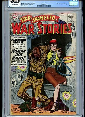 Star Spangled War Stories #85 CGC 3.5 Mlle Marie Cover Hot Book!