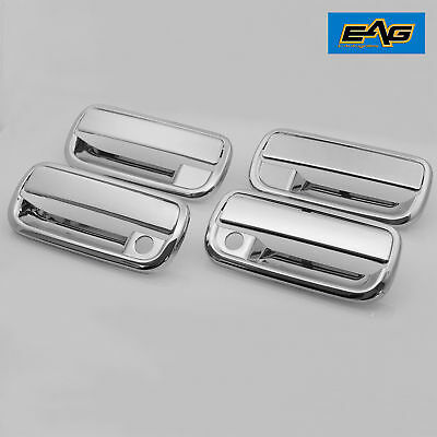 95-04 Toyota Tacoma Door Handle Cover Outside Set of 4 PCS Chrome Pickup Truck