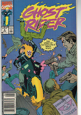 Ghost Rider #2 (Jun 1990, Marvel) Fine/VF