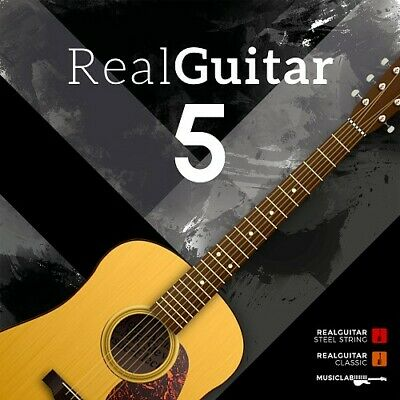 New MusicLab RealGuitar 5 Real Guitar Virtual Instrument VST Software eDelivery