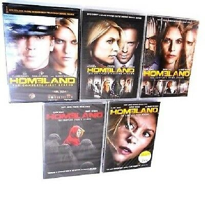 Homeland TV Series Complete All Seasons 1-5 DVD Set Collection Episodes Show Vol