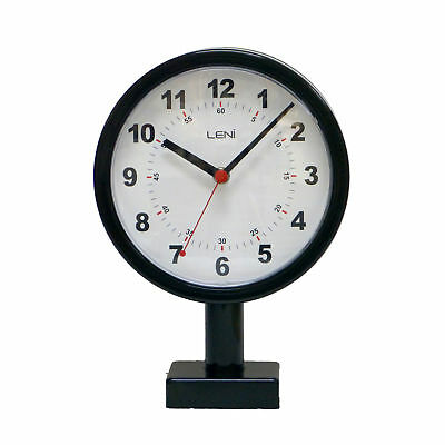 NEW Station Double Sided Metal Wall Clock - Leni,Clocks