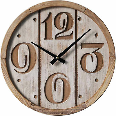 NEW White Wash Panel Wall Clock - HighST.,Clocks