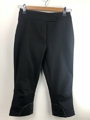 Ladies Prada Biker Pants Black 38 - Genuine Vintage Deadstock Made in Italy A002