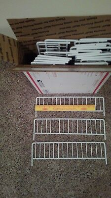 Wire Bin Divider 3 In. X 14 In. from (UPS Store) 21 pieces used.