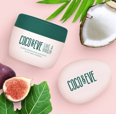 Coco & Eve Nourishing Coconut and Fig Hair Masque & tangle tamer Mask Soft shine