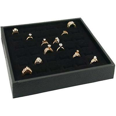 Ring Display Case Box For36 Ring Velvet Insert Jewelry Case FREE FAST SHIPPING