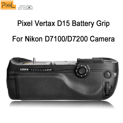 Pixel MB-D15 Battery Grip Power Pack for Nikon Digital SLR Camera D7100 D7200