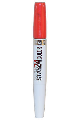 Maybelline Super Stay 24 Hour 24hr Color Dual Lipstick 5g Tangerine Pop #480