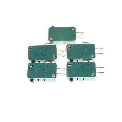 5Pcs Normally Open Close Limit Switch KW7-0 15A 16A Micro Switch KI