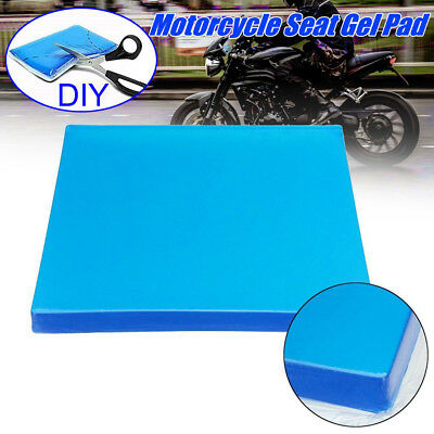 Comfort Motorcycle Seat Gel Pad Shock Absorption Mats Cushion Accessories