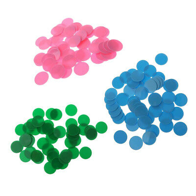 150pcs Plastic Maths Counters - (32mm) Baby Educational Number Math Games