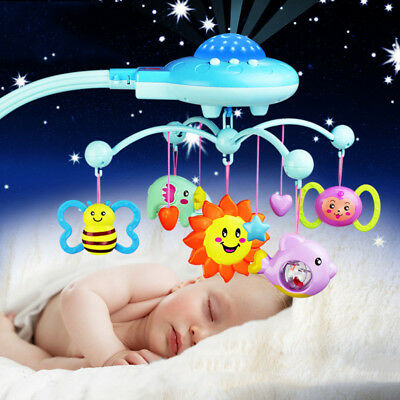 Baby Crib Mobile Bed Bell Holder Toy Hanger Arm Bracket Stent Learning Hanging