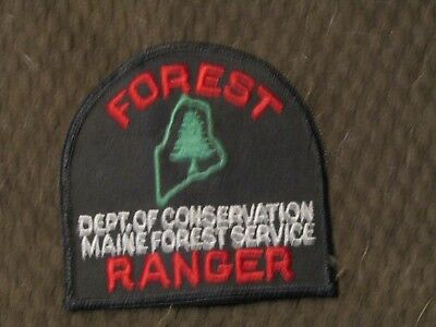 Maine Forest Ranger Police Patch *USED*
