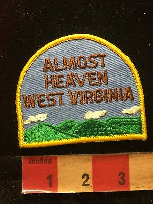 Vtg ALMOST HEAVEN West Virginia Patch 84J2