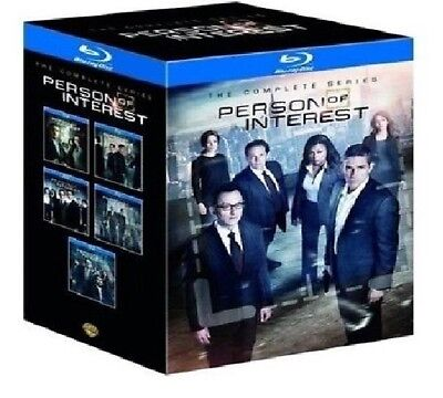 Person of Interest Complete Series All Seasons 1-5 Bluray Set Collection Episode
