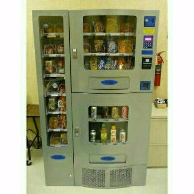 Vending Machine COMBO SODA / SNACK candy pop Office Deli Food truck Genesis