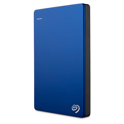 New Seagate - 1TB Backup Plus Slim Portable Drive - Blue