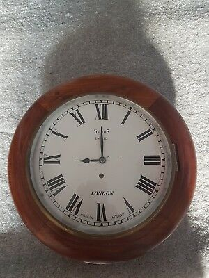School Clock Case, Face And Hands