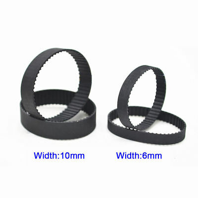 B234-B1012 MXL Pulley Timing Belt 6/10mm Width Synchronous Belt Pitch 2.032mm