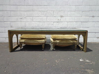 Coffee Table Bench Cocktail Stools Chinese Chinoiserie Console James Mont Asian