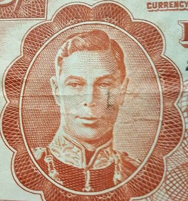 1948 Jamaica: 5 (Five) Shillings Government Of Jamaica P-37a Kg George V