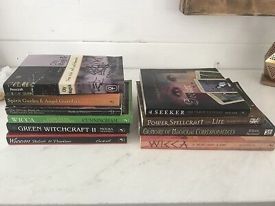 Lot of 10 wiccan books spells rituals green witchcraft grimoire lot of 10 wiccan books spells rituals green witchcraft grimoire tarot wicca fandeluxe Gallery