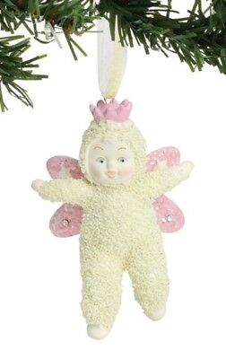 Dept 56 Snowbabies Little Fairy Ornament #6001860 BRAND NEW 2018 Free Shipping