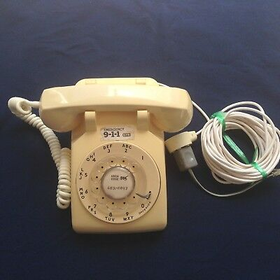 Vintage Bell System Western Electric Telephone Dial Rotary System Desk