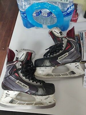 25cbd1502e7 Bauer Vapor APX2 Ice Hockey Skates Size 4D 4 D Junior Youth Skate Jr