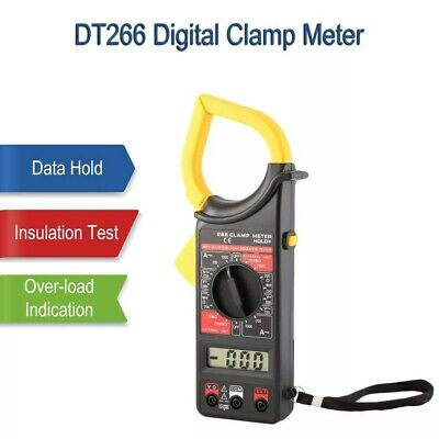 Multi Tester Digitale Pinza Amperometrica Corrente Display Lcd Dt266 Ac/dc
