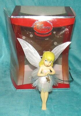 Disney Store Exclusive Tinkerbell Tree Topper 2008, 8 inches