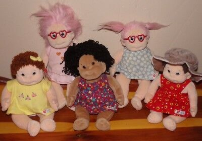 dfd2729c9c1 Ty Beanie Babies Kids Plush Doll LOT OF 5 Cookie Calypso Curly   2 Luvie