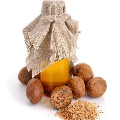 Nutmeg OIL (100% Pure Essential Oil) food grade FREE SHIPPING WORLD WIDE